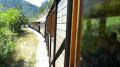 Old Narrow-gauge Railway Stock Footage