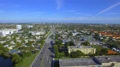 Miami 107th Avenue Stock Footage