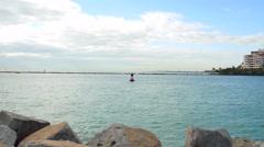 Fisher Island Miami Beach - stock footage