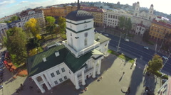 Town hall Minsk. Belarus Stock Footage