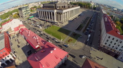 Palace of the Republic in Minsk Stock Footage