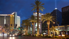 Mandalay Bay & Luxor Stock Footage