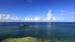Hirakubozaki point on Ishigakijima Island in Okinawa Prefecture Stock Footage