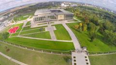 Minsk, Belarus - Belorussian President's residence Stock Footage