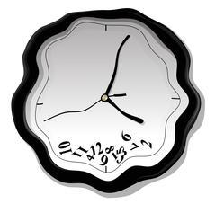 Clock vector illustration - stock illustration