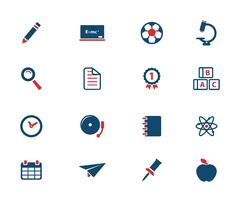 School simply icons Piirros
