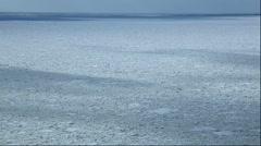 Drifting ice, Hokkaido, Japan Arkistovideo