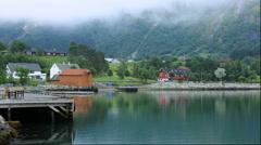 Eidfjord, Norway Stock Footage