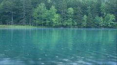 Fresh green at Lake Onneto in Hokkaido Stock Footage