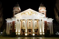 Ivan Vazov National Theatre, Sofia, Bulgaria - stock photo