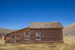 Abandoned house in Bodie, California Stock Photos