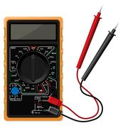 Digital multimeter vector illustration - stock illustration