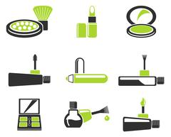 Make-up products icons Piirros