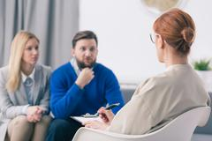 There's always a chance to resolve marital problems - stock photo