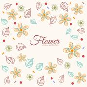 Stock Illustration of decor flower  template concept. Icons design for your product or design, web and