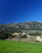 orient village in majorca - stock photo