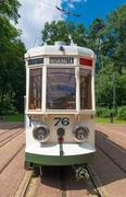 Stock Photo of vintage tram