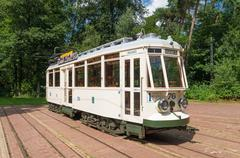 Vintage tram Stock Photos