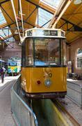 Stock Photo of vintage tram