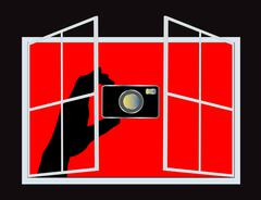Spy Camera (Vector) Stock Illustration
