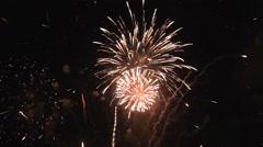 Fireworks, HD 1920 x 1080 format. Stock Footage