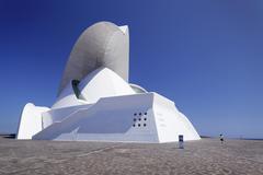 Auditorium Auditorio de Tenerife Santa Cruz Island Tenerife Canary Islands - stock photo