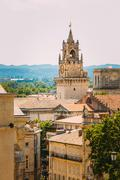 Clock tower Jaquemart in Avignon, France Stock Photos