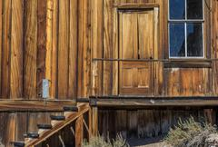 Stock Photo of Entrance of an old house in Bodie