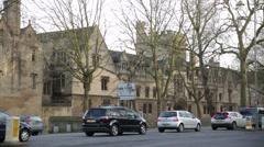 Oxford University, Oxford, England, Europe Stock Footage