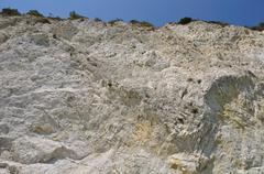 Eroded cliff Stock Photos