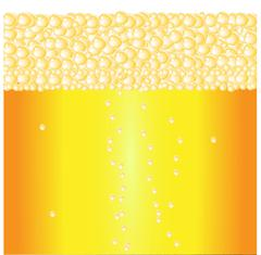 Beer Froth Background - stock illustration