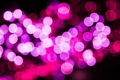 Colorful festive bokeh background of lights Stock Photos