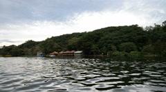Nile river and Lake Victoria Jinja, Uganda, Africa. Stock Footage