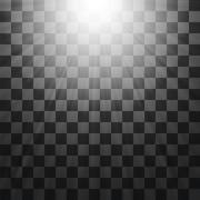 Blurred Sun Rays. - stock illustration