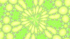 Abstract rotating background in Yellow Green tones - stock footage