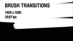 Brush Transitions Pack 1 Stock After Effects
