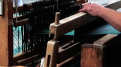 Loom in Flanders Stock Footage