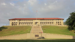 Panama Canal Administration Building 1 Stock Footage