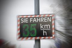 Scoreboard of speed - stock photo