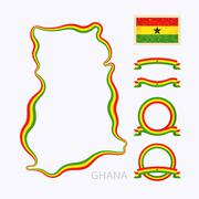 Stock Illustration of Colors of Ghana