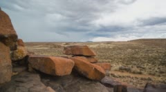 A Karoo landscape Stock Footage