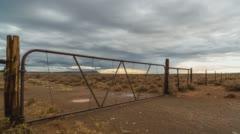 Rain clouds above the Karoo - stock footage