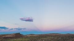 A Karoo landscape - stock footage