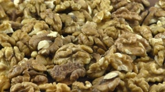 Walnut without shell Stock Footage