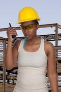 Female Construction Worker Kuvituskuvat