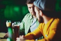 Friends in pub Stock Photos