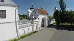 Mogilev, Belarus. St. Nicholas Monastery Complex Stock Footage