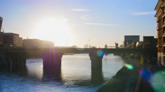24 Hours In London Stock Footage