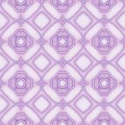 Beautiful seamless pattern in violet - stock illustration
