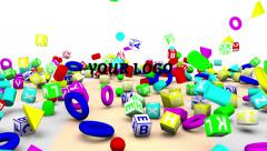Kid`s Toys Opener Stock After Effects